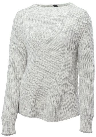 LINEA TESINI BY HEINE Вязаный пуловер объемный