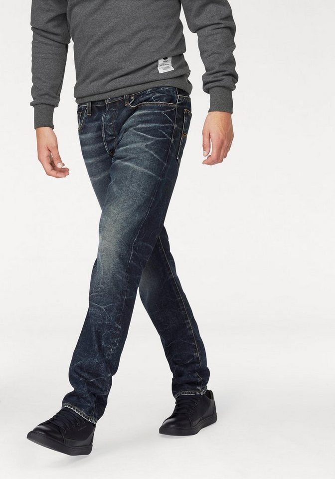 g star tapered fit jeans 3301 tapered kaufen otto. Black Bedroom Furniture Sets. Home Design Ideas