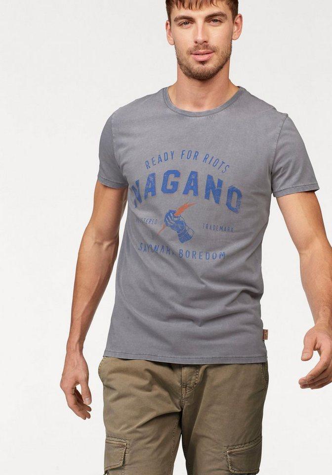 Nagano T-Shirt in hellgrau