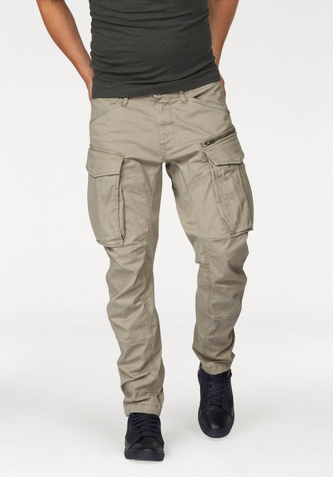 G-Star Cargohose »Rovic Zip 3D tapered« in beige