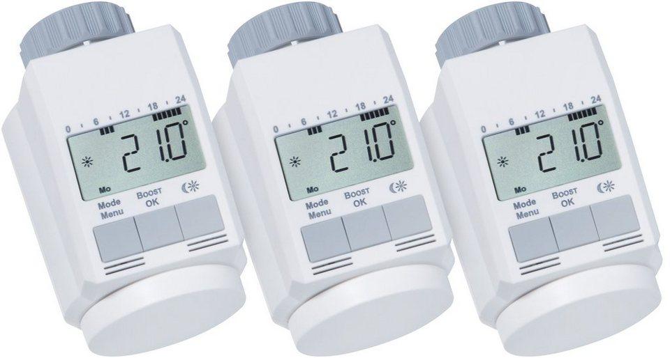 Sparset: Heizkörperthermostat »Classic L, 3 Stück« in weiß
