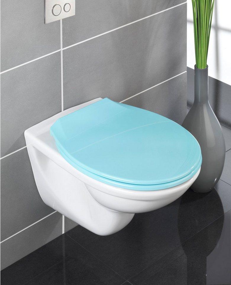 WC-Sitz »Premium Kos«, Mit Absenkautomatik in blau