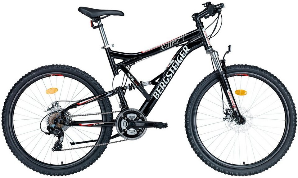 bergsteiger mountainbike dirt 66 04 cm 26 zoll online. Black Bedroom Furniture Sets. Home Design Ideas