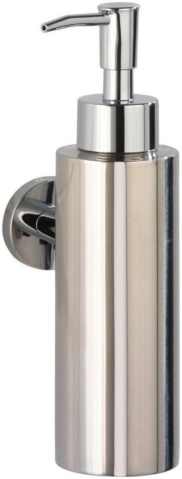 Seifenspender »Power-Loc Seifenspender Elegance« in silber glänzend