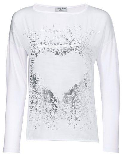 B.C. BEST CONNECTIONS by Heine Oversized-Shirt mit Metallic-Effekt