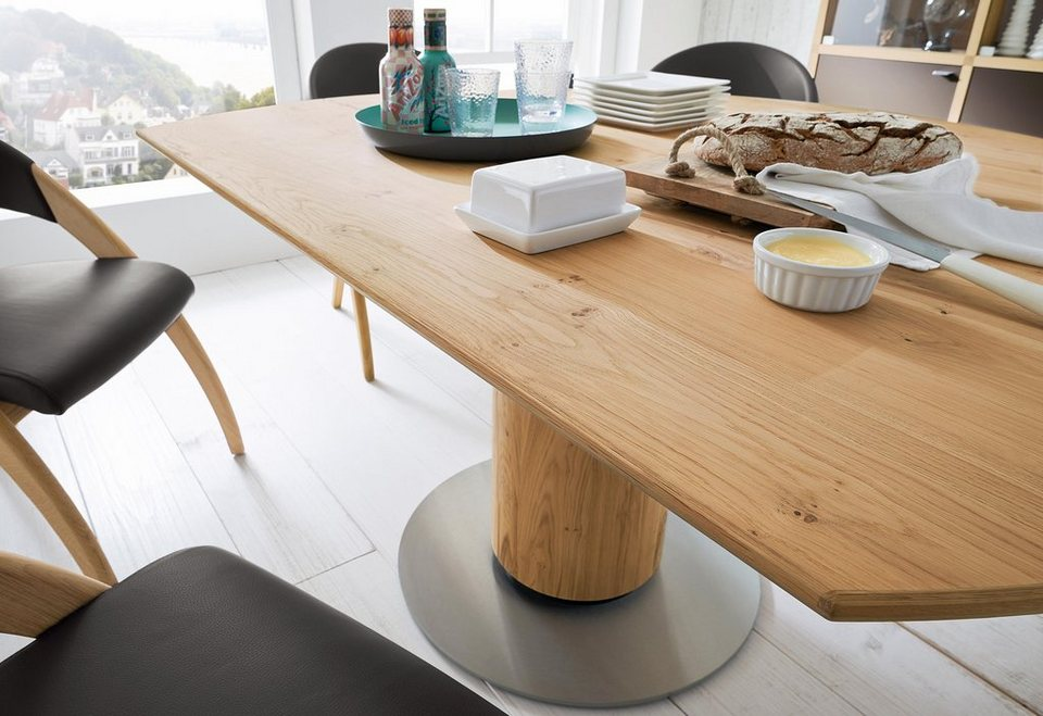 Venjakob esstisch et 207 mit runder bodenplatte otto for Designer tisch rund ausziehbar