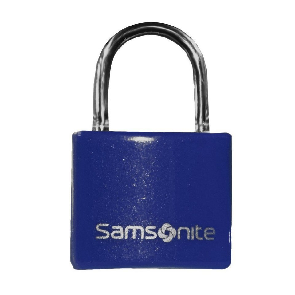Samsonite Samsonite Accessories Reise-Sicherheit Vorhängeschloss 2,5 cm in indigo blue