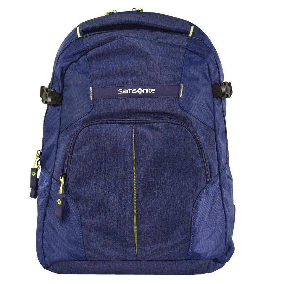 Samsonite Rewind Rucksack 44 cm Laptopfach in dark blue