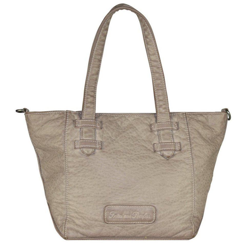 Fritzi aus Preußen Kiki Washed Handtasche 29 cm in grey