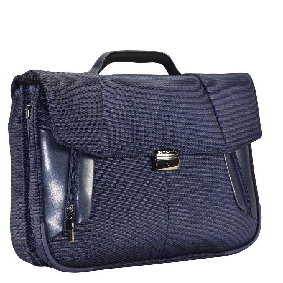 Samsonite XBR Aktentasche 45 cm Laptopfach in blue