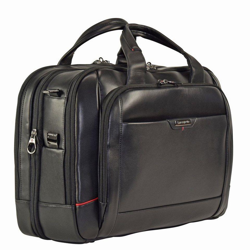 Samsonite Pro-DLX 4 LTH Business Aktentasche 44 cm Laptopfach in black