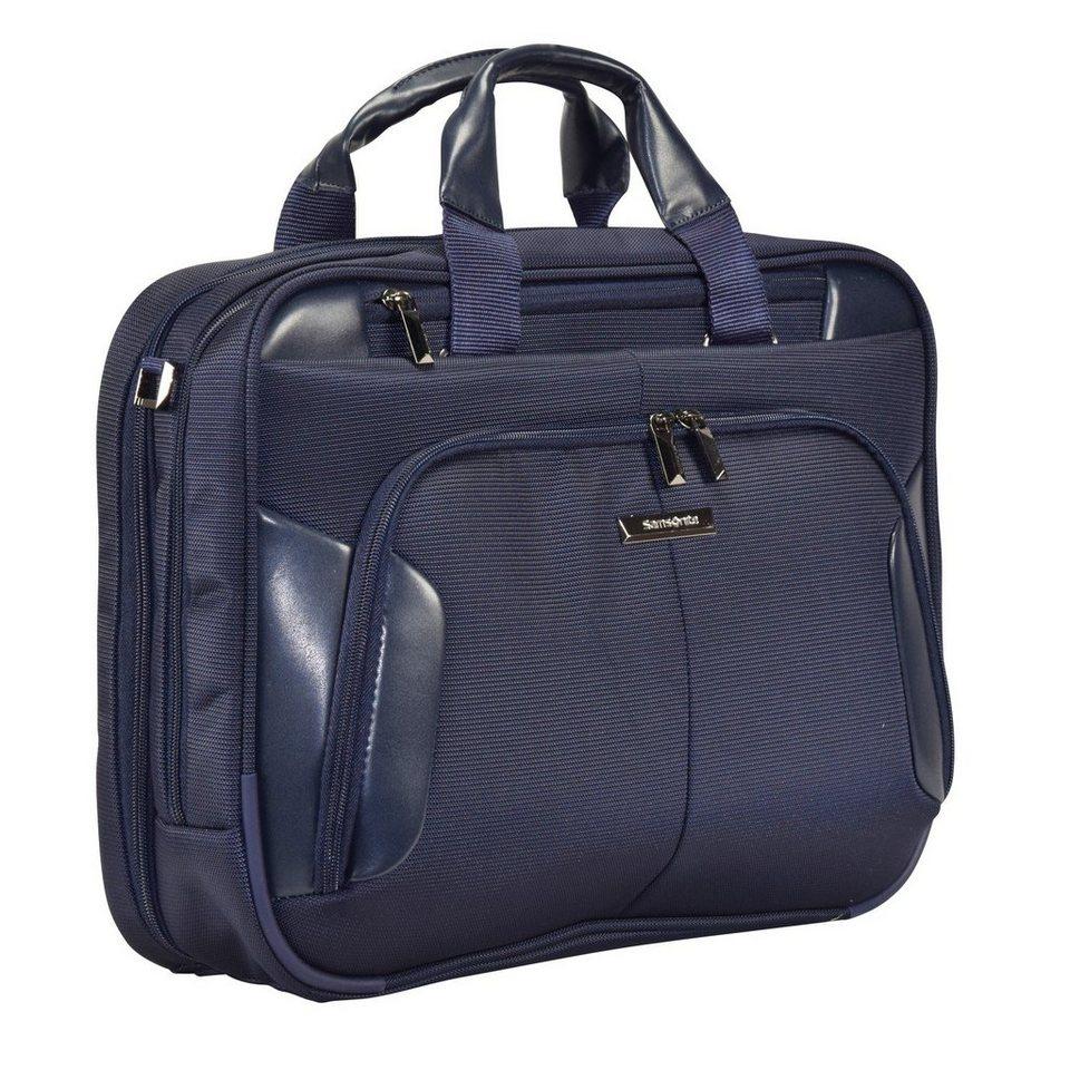 Samsonite XBR Aktentasche 44 cm Laptopfach in blue