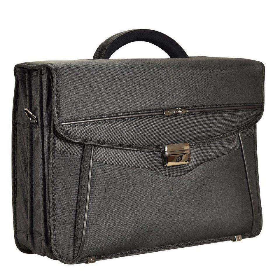 Samsonite Desklite Aktentasche Briefcase 42 cm Laptopfach in black