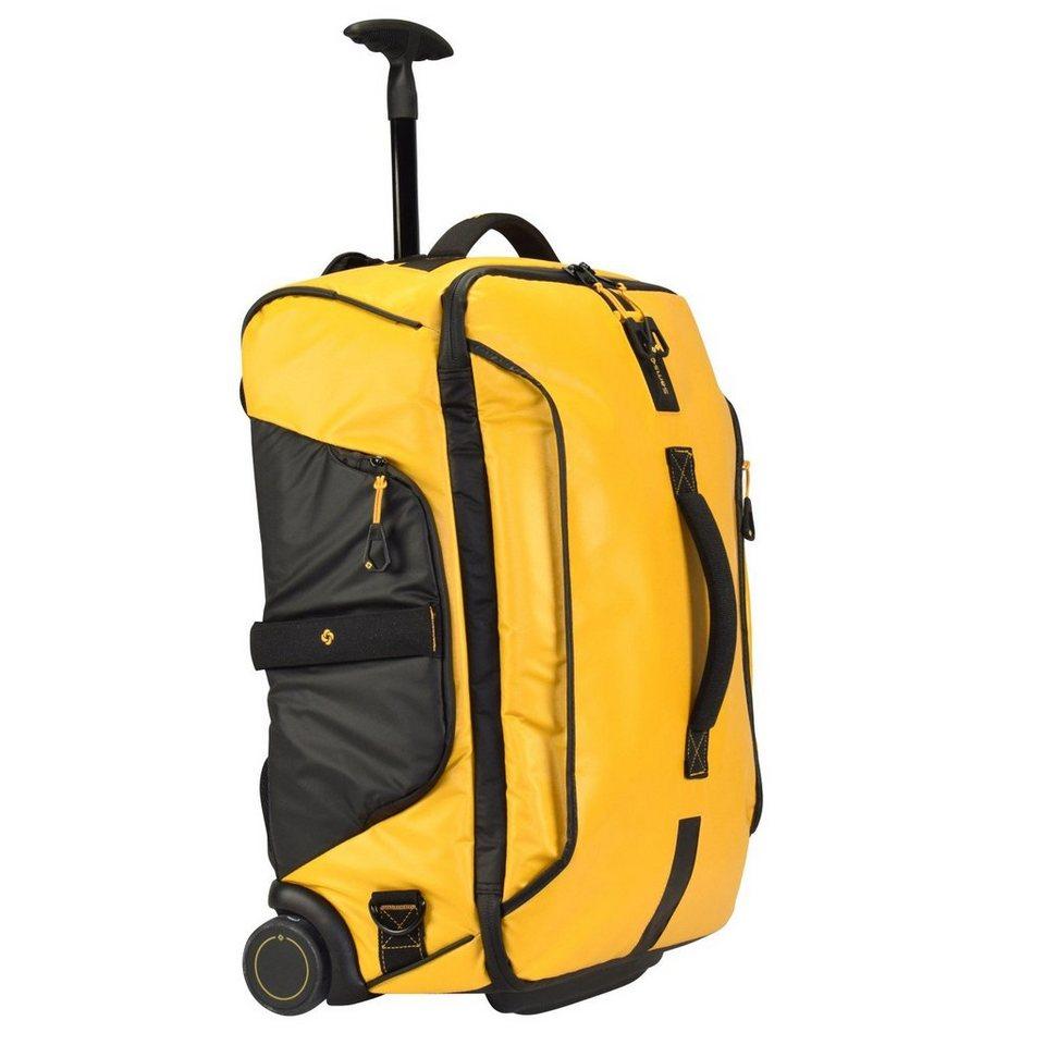Samsonite Paradiver Light Rollen-Reisetasche 55 cm in yellow