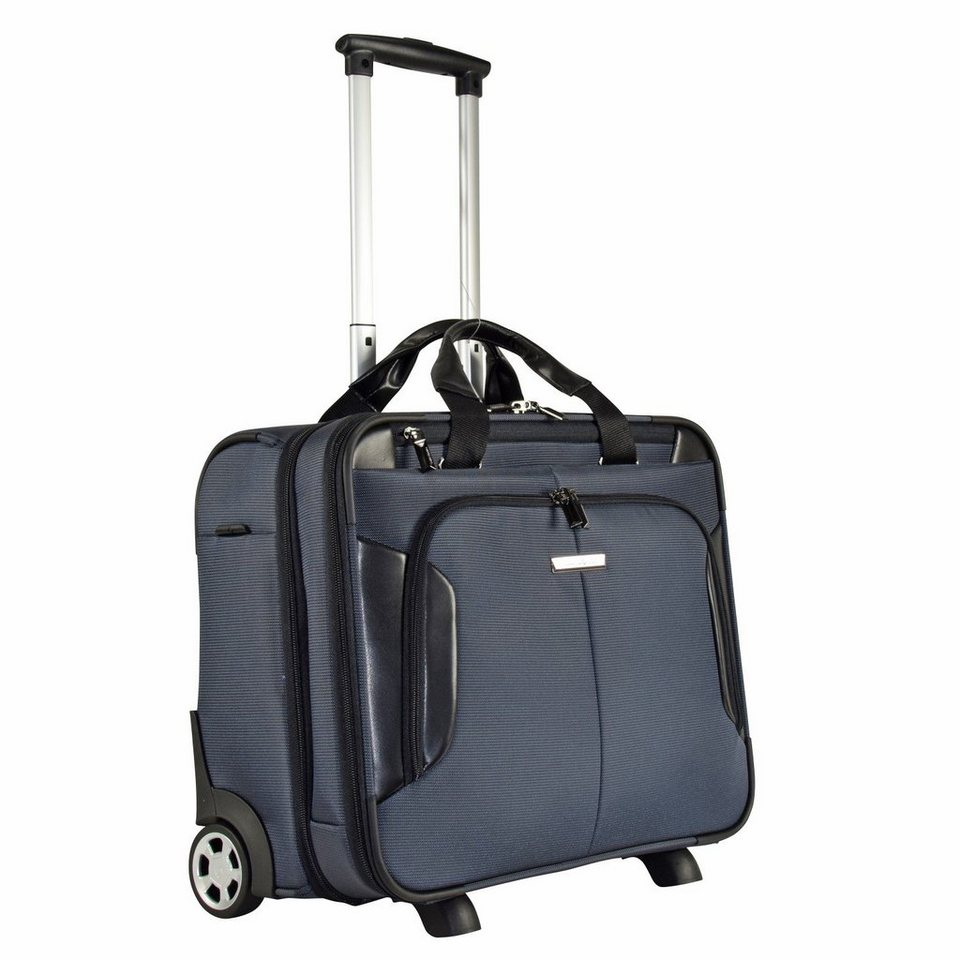 Samsonite XBR Business Trolley 45,5 cm Laptopfach in grey black