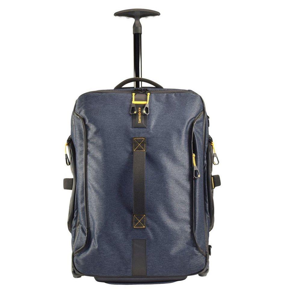 Samsonite Paradiver Light Rollen-Reisetasche 55 cm in jeans blue