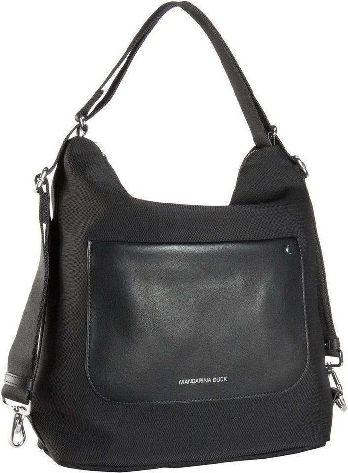 Mandarina Duck Camden Small Hobo in Black