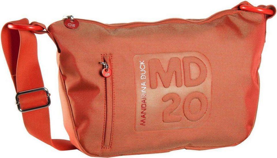 Mandarina Duck MD20 Crossover Bag Medium in Sun Orange