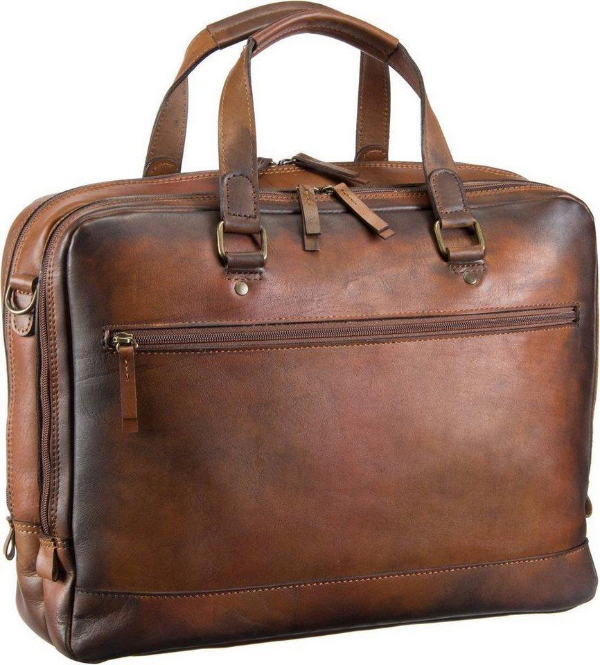Jost Randers 2482 Kurzgrifftasche in Cognac