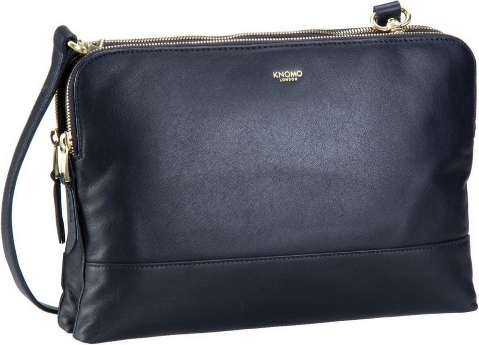 "knomo Mayfair Luxe Davies 10"" in Navy"