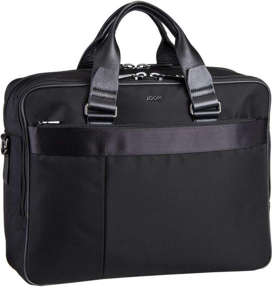 Joop Pandion Pure Nylon Brief Bag in Black