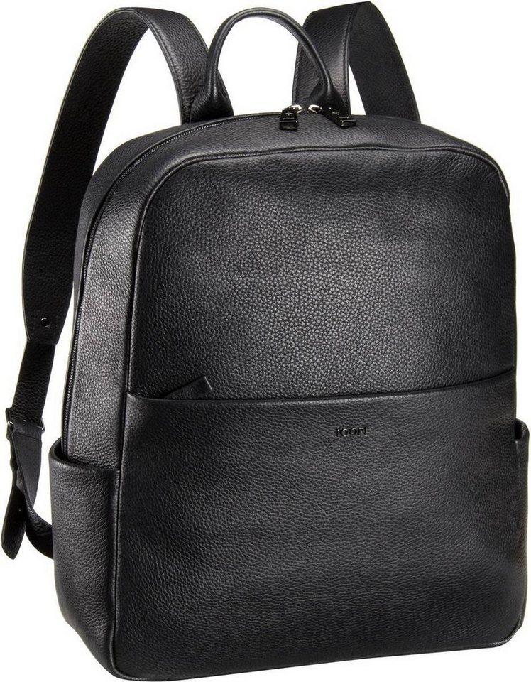 Joop Miko Cross Grain Backpack in Black