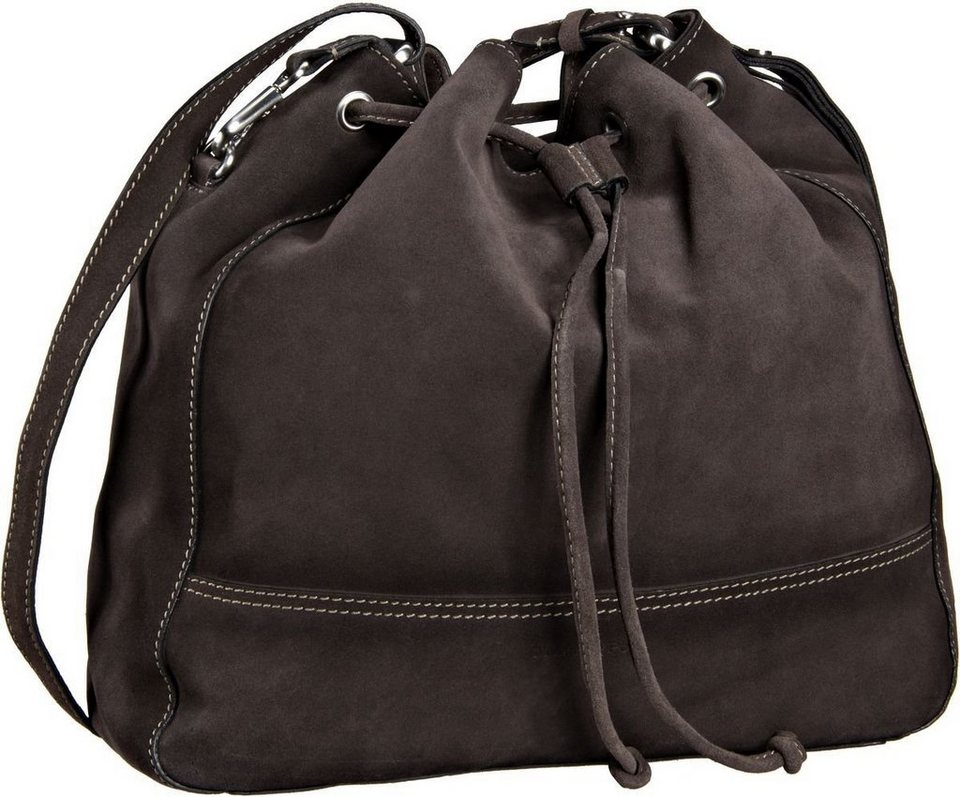Marc O'Polo Nora Drawstring Bag L in Stone