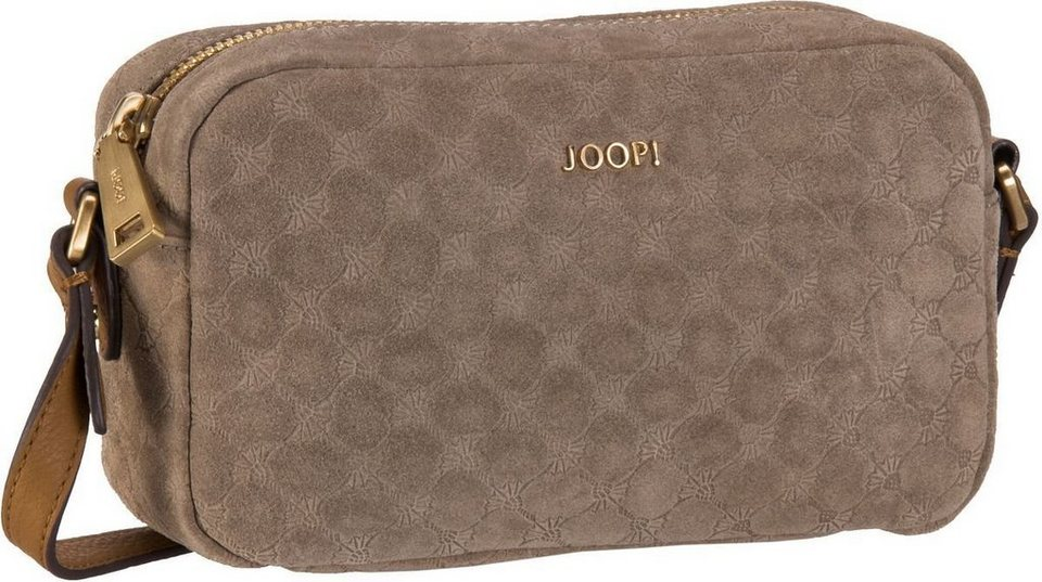 Joop Cloe Velluto Stampa Shoulder Bag Small in Taupe
