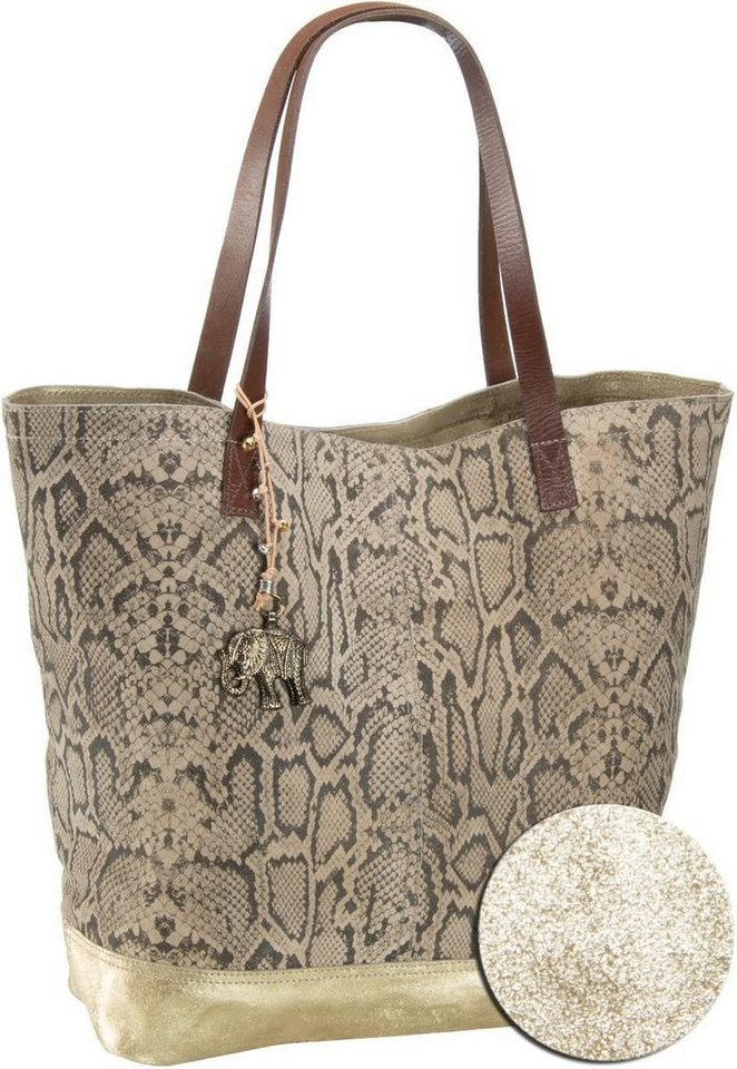 Anokhi Dean Shopper Deluxe in Snake