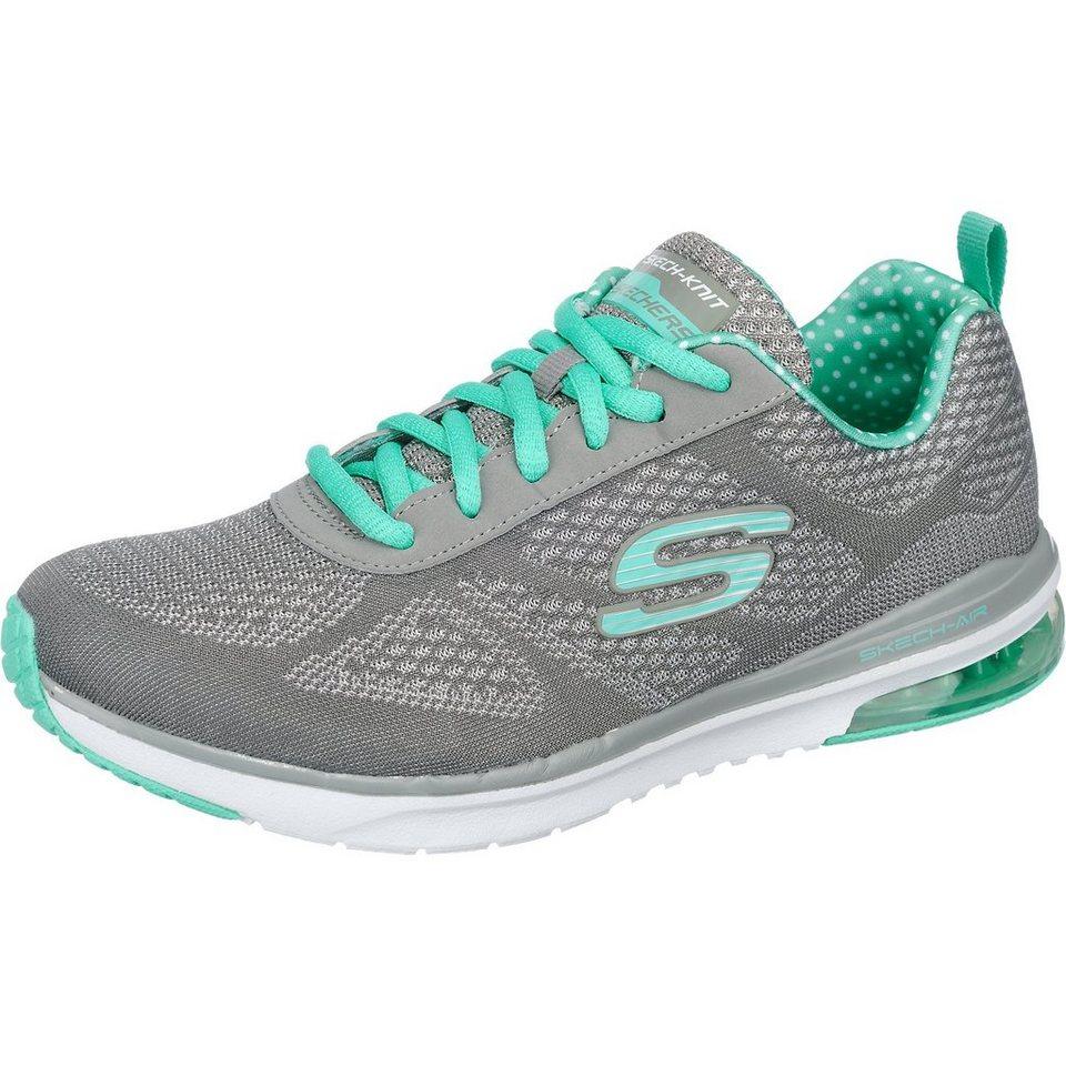 SKECHERS Skech-Air Infinity Sneakers in grau-kombi