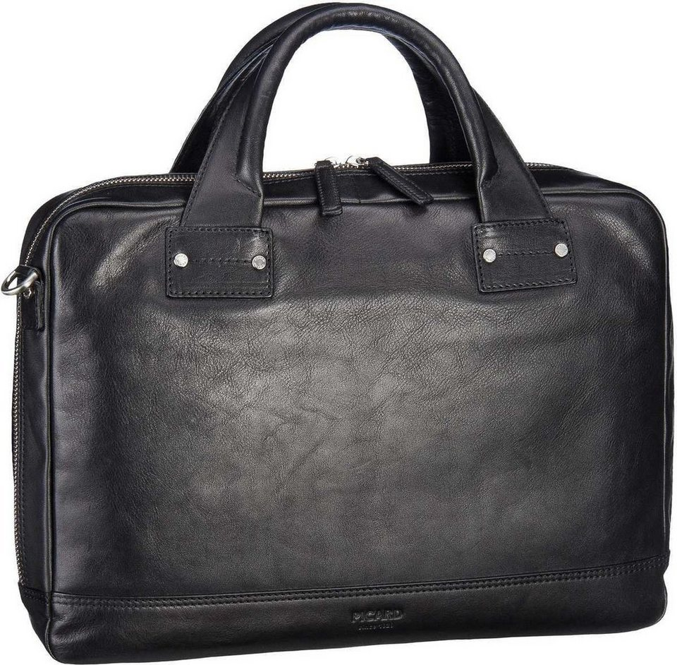 Picard Do It Business Bag in Schwarz