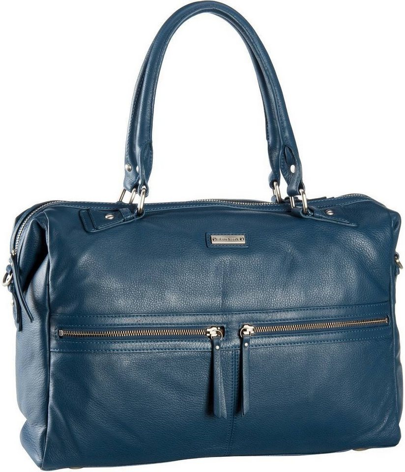 Storksak Caroline Leather in Blue