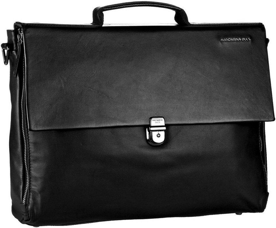 Mandarina Duck Duplex Briefcase in Black