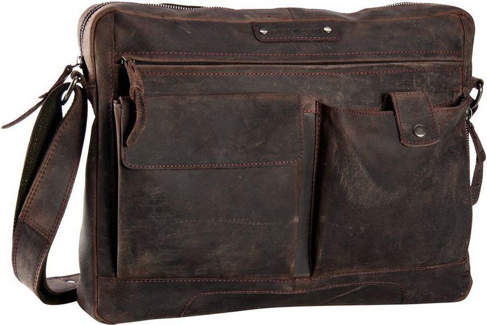 Greenburry Vintage Revival Sattle Bag in Brown