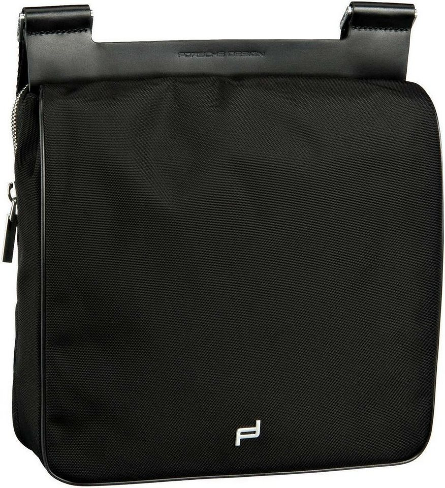Porsche Design Shyrt-Nylon ShoulderBag MFV in Black