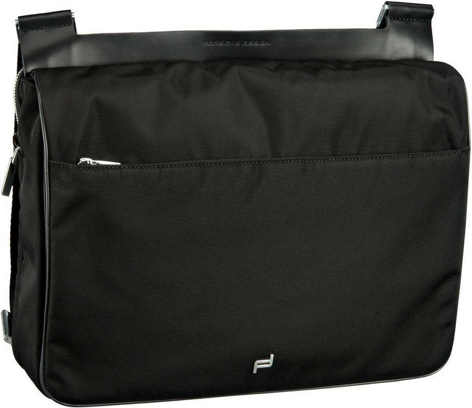 Porsche Design Shyrt-Nylon ShoulderBag MFH in Black