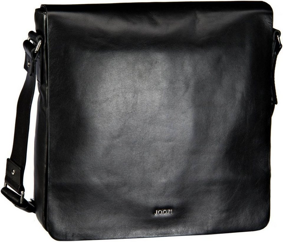 Joop Miron Carson Flap Bag Medium in Black