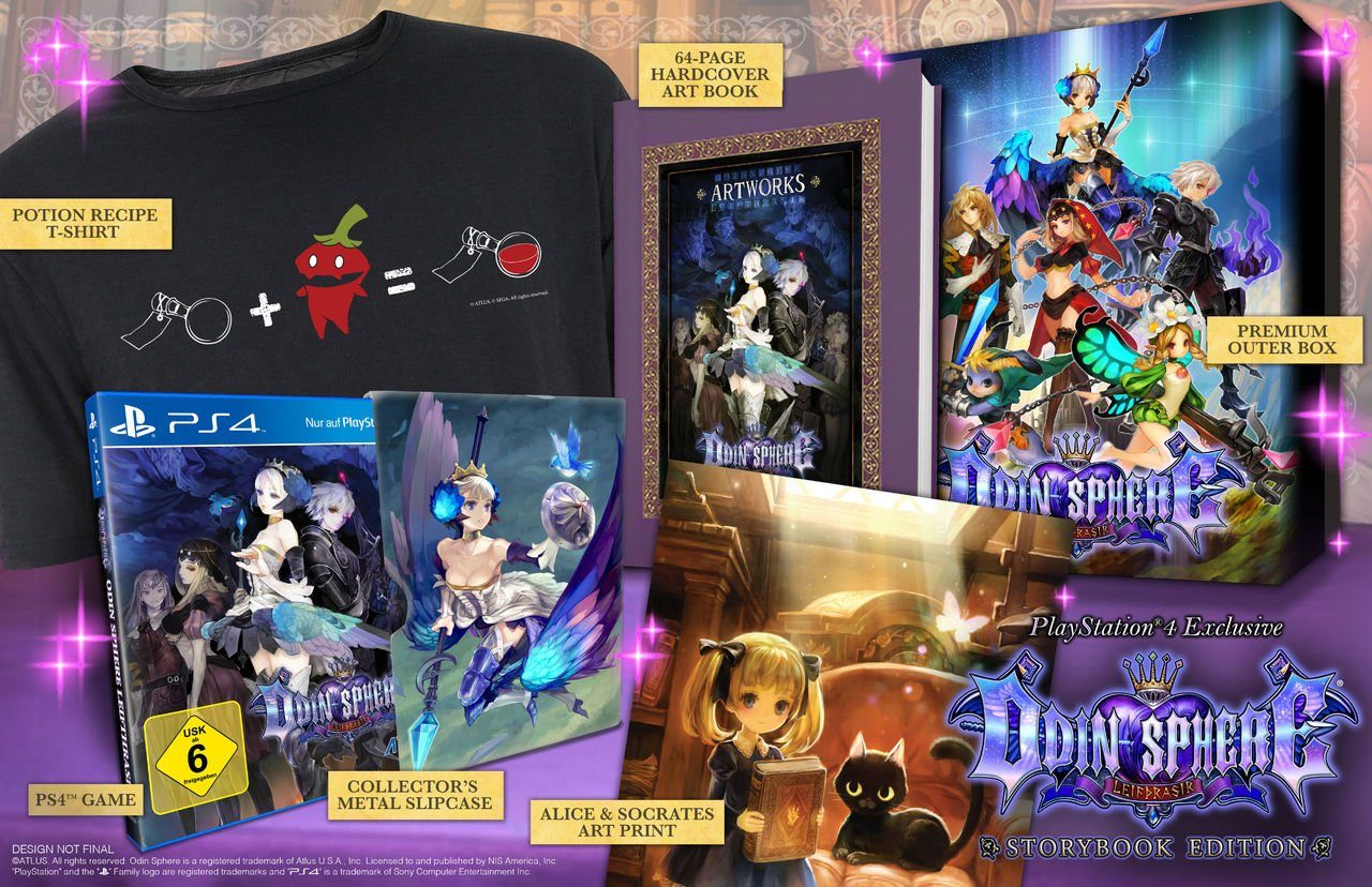 Atlus Playstation 4 - Spiel »Odin Sphere Limited Edition«
