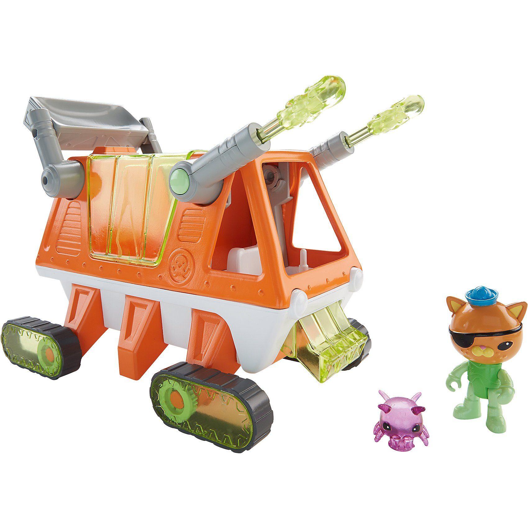 Mattel Die Oktonauten - Guppy-T Rettungsfahrzeug