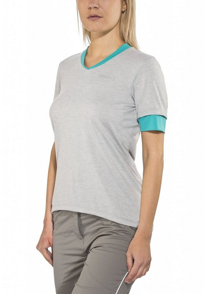Craft Radtrikot »Escape Jersey Women« in grau