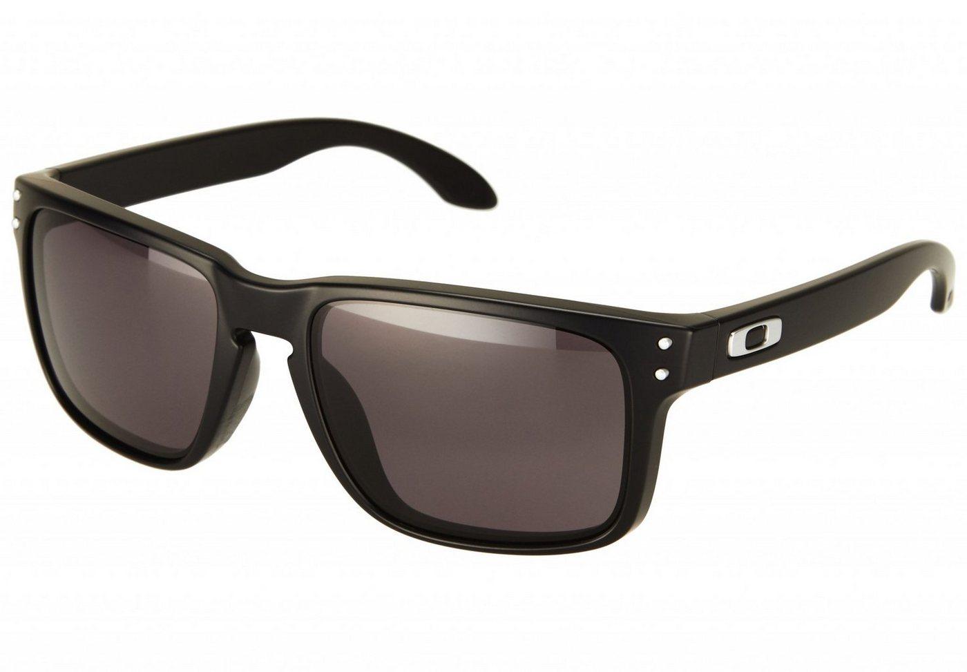 Oakley Holbrook - Sonnenbrille für Herren Schwarz - broschei