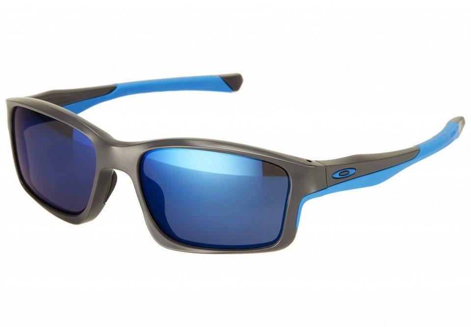 Oakley Radsportbrille »Chainlink Brille matte« in grau