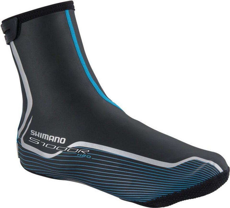 Shimano Fahrradschuhe »Asphalt H2O S1000R Überschuhe Unisex« in schwarz