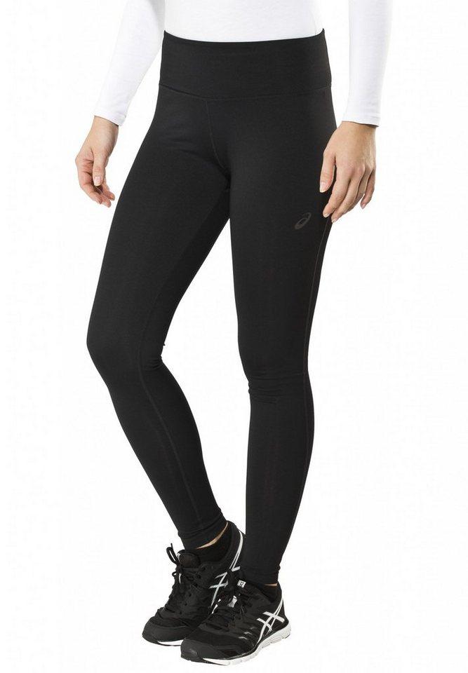 asics Jogginghose »Spiral Long Tight Women« in schwarz
