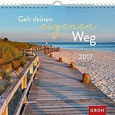 Kalender »Geh deinen eigenen Weg 2017«