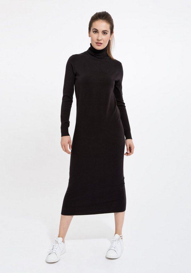 Mexx Strickkleid in schwarz