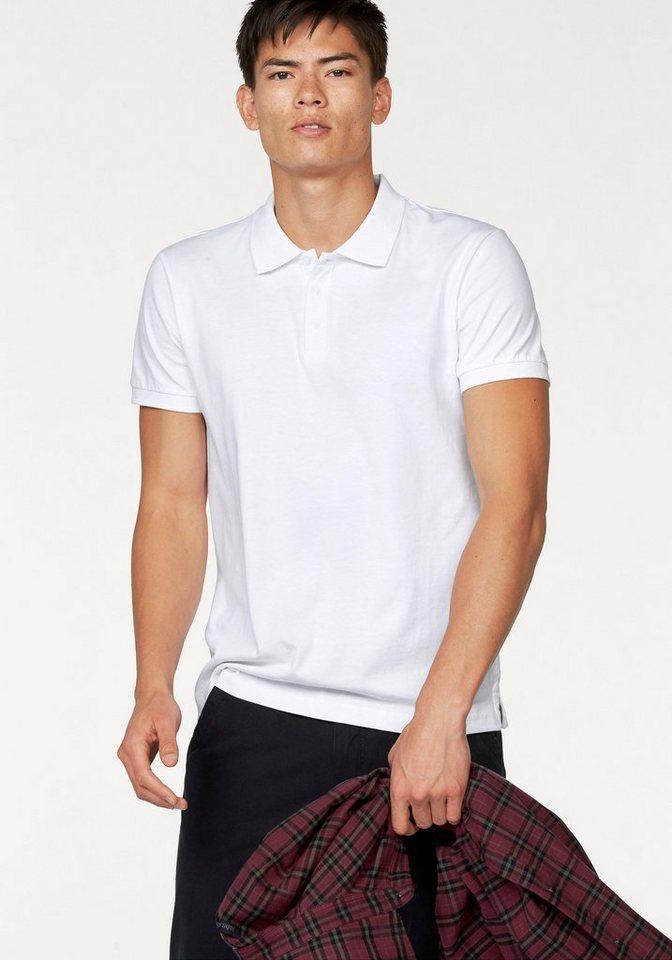 John Devin Poloshirt in weiß