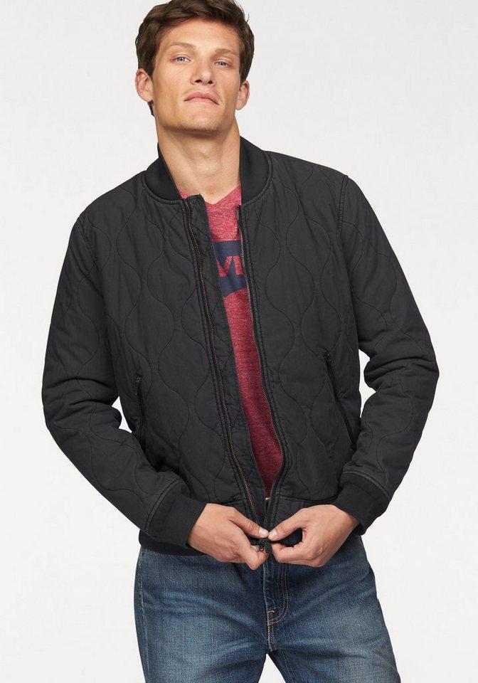 Levi's® Blousonjacke mit Thermoisolierung in schwarz
