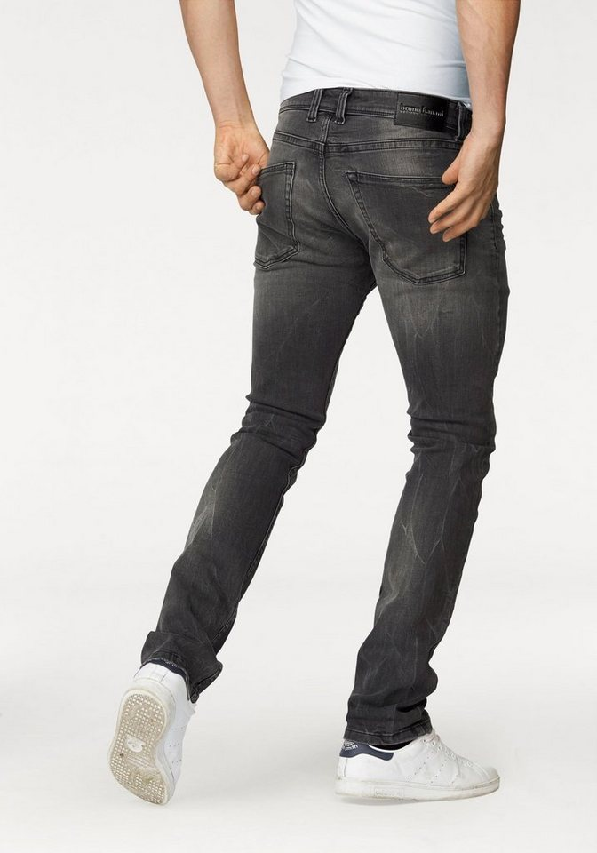 Bruno Banani Slim-fit-Jeans »Jimmy (Stretch)« in grey-used