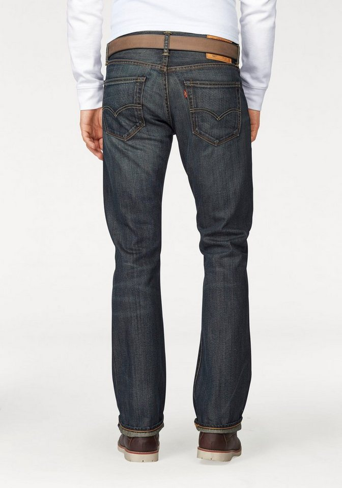 Levi's® Bootcut-Jeans »527™« in dusty-black
